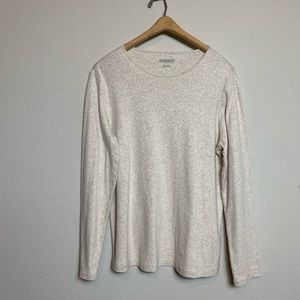 Pendleton Cream Colored Womens Long Sleeve